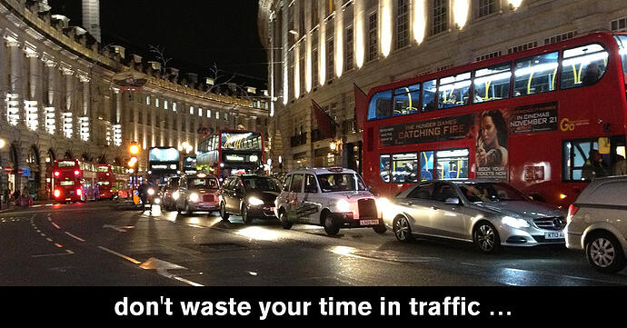 Have you ever thought about how much time you spend in traffic?