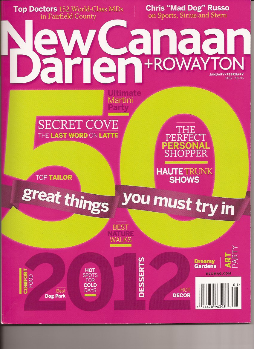 Darien Fertility Doctor New Canaan Rowayton Top Doctor Award 2012
