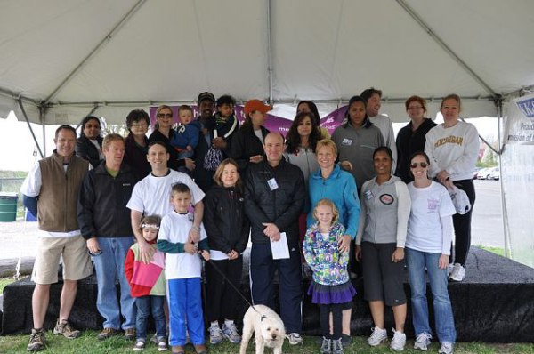 Reproductive Medicine Associates of CT- March of Dimes Walk 2011- One Healthy Pregnancy, One Healthy Baby at a Time