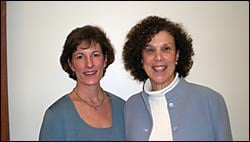 Dr Lisa Tuttle and Jane Elisofon MSW