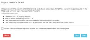 CCM Consent