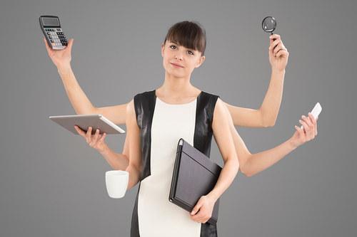 Multi-tasking-Woman