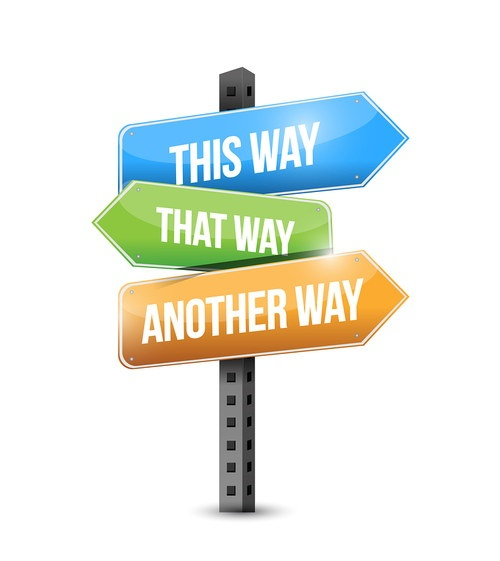 One Way or Another Sign