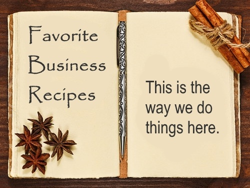 Favorite Business Recipes