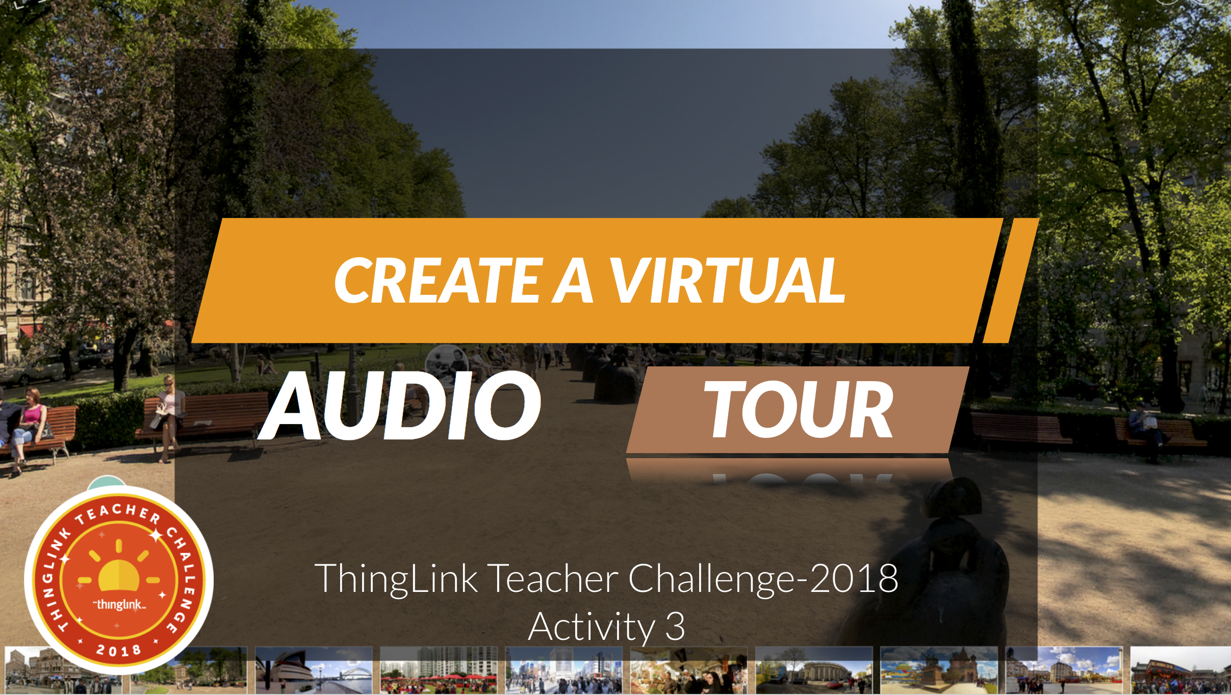 Create a Virtual Tour with Audio