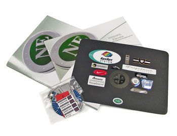 plastic nameplate and label sample kit | Northern Engraving