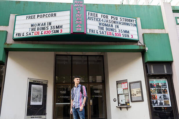 International Student Pursues Passion for Film at PSU