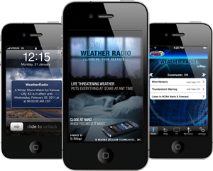 New iMap®Weather Radio App for iPhone, iPad and iPod Touch Unveiled