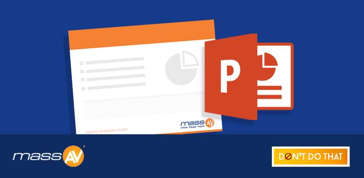 How to Design a PowerPoint Slide Master Template - massAV