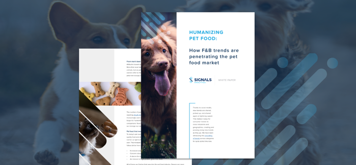 Humanizing Pet Food: How F&B Trends are Penetrating the Pet Food Market