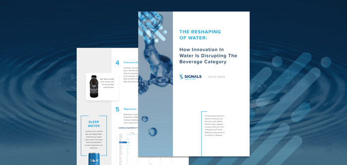 The Reshaping of Water: How Innovation in Water is Disrupting the Beverage Category