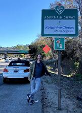 Ketamine Clinics of Los Angeles Adopt Highways to Give Back and Help Keep the City Cleaner