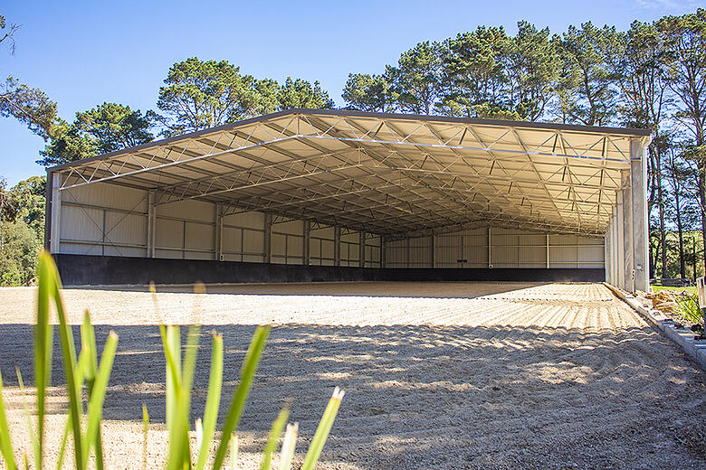 Building a dressage arena for all weather conditions