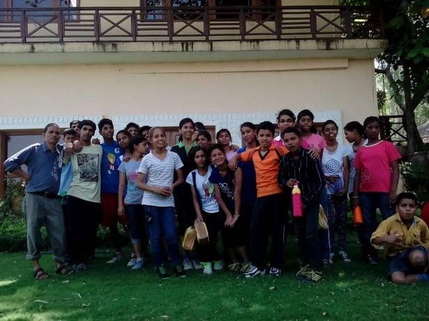'Joy of Giving' week Celebration – A visit to Ashiana Children's Home
