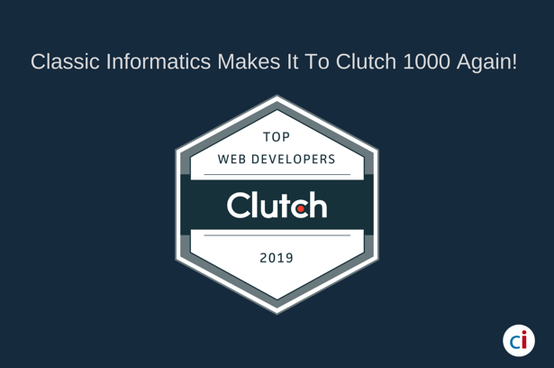 Classic Informatics Named on Clutch 1000 for Its Exceptional Work