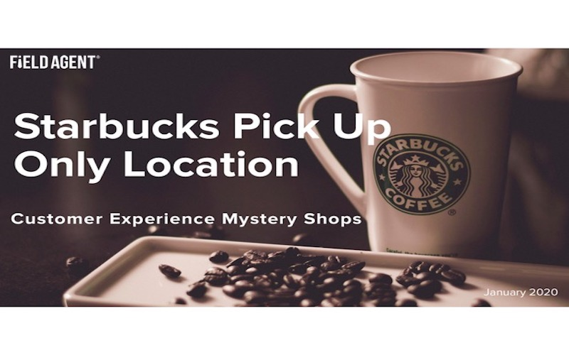 Starbucks pick up only location