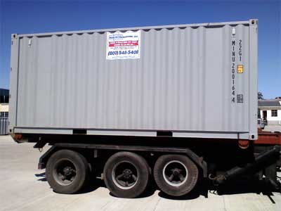 20' Storage Container, Roll Off Modification