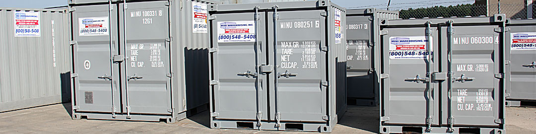 portable storage containers at miniwarehousing