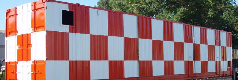 custom painted storage container