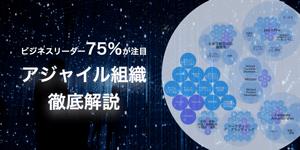 ビジネスリーダーの75%が注目!「アジャイル組織」について徹底解説します。