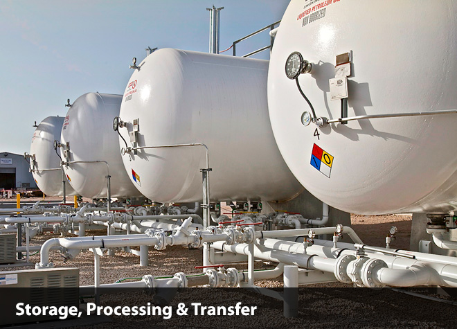 propane ngl infrastructure services