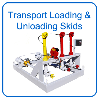 LPG and NGL Transport Loading and Unloading Skids