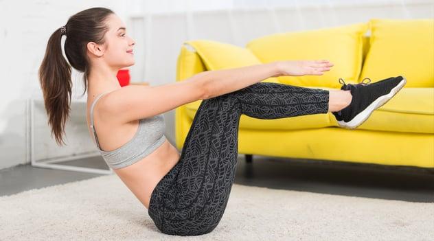 ¡Aunque estés en casa la actividad física no para!