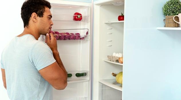 ¿Sientes más hambre en casa?