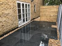 Brazilian Slate paving slabs by Bramble & Rose