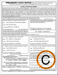 cpn california 20 day preliminary notice form