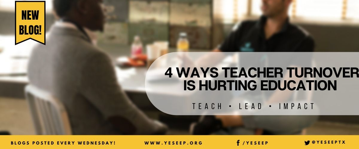 4 Ways Teacher Turnover is Hurting Education
