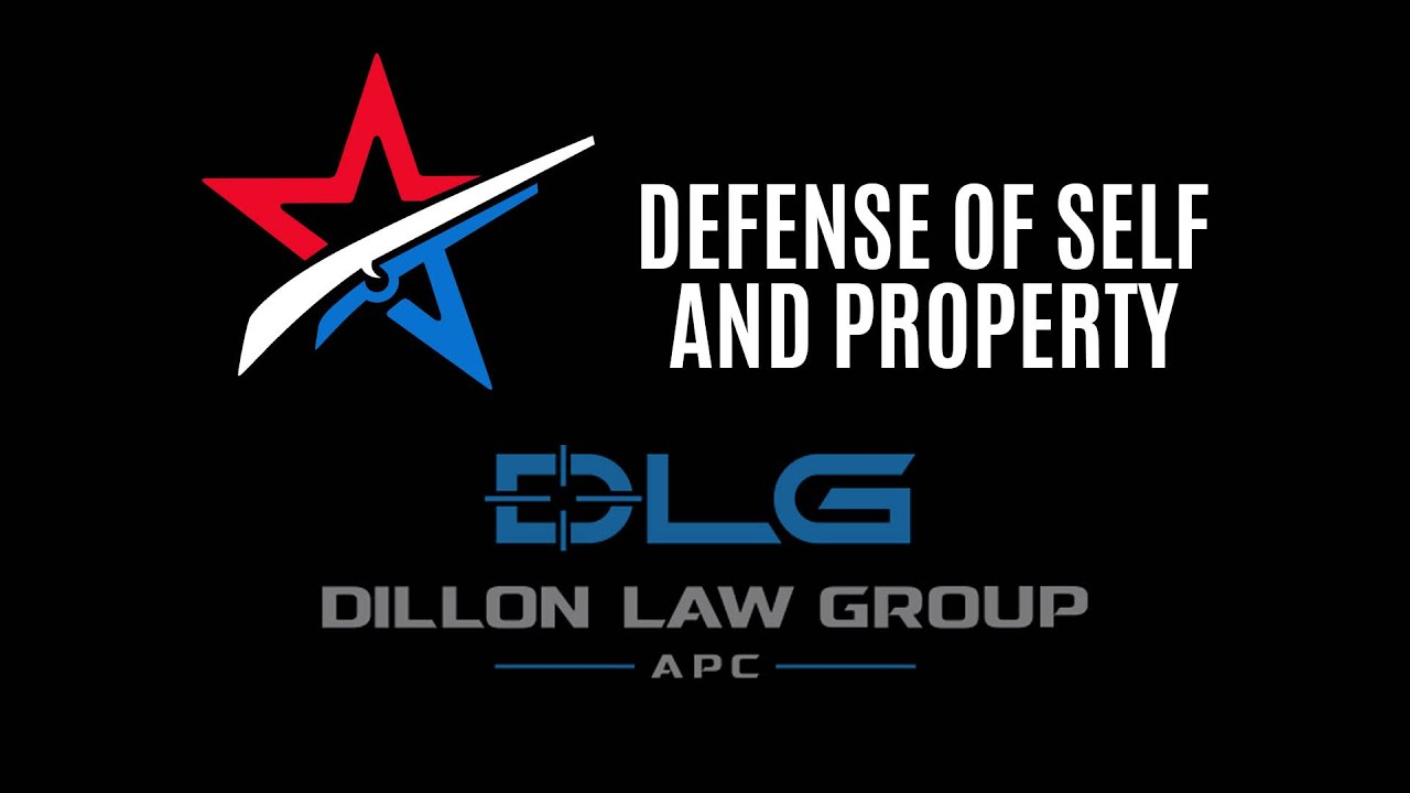 defense of self and property