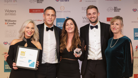 Leap29 WON at the North East Cheshire Business Awards