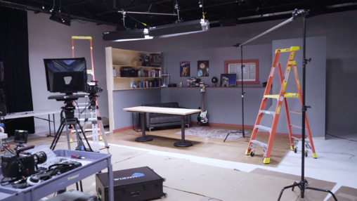 Video Production Set Build Behind-The-Scenes