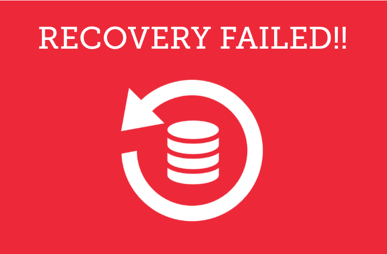 Are You Adequately Testing your Backup and Recovery Plans?