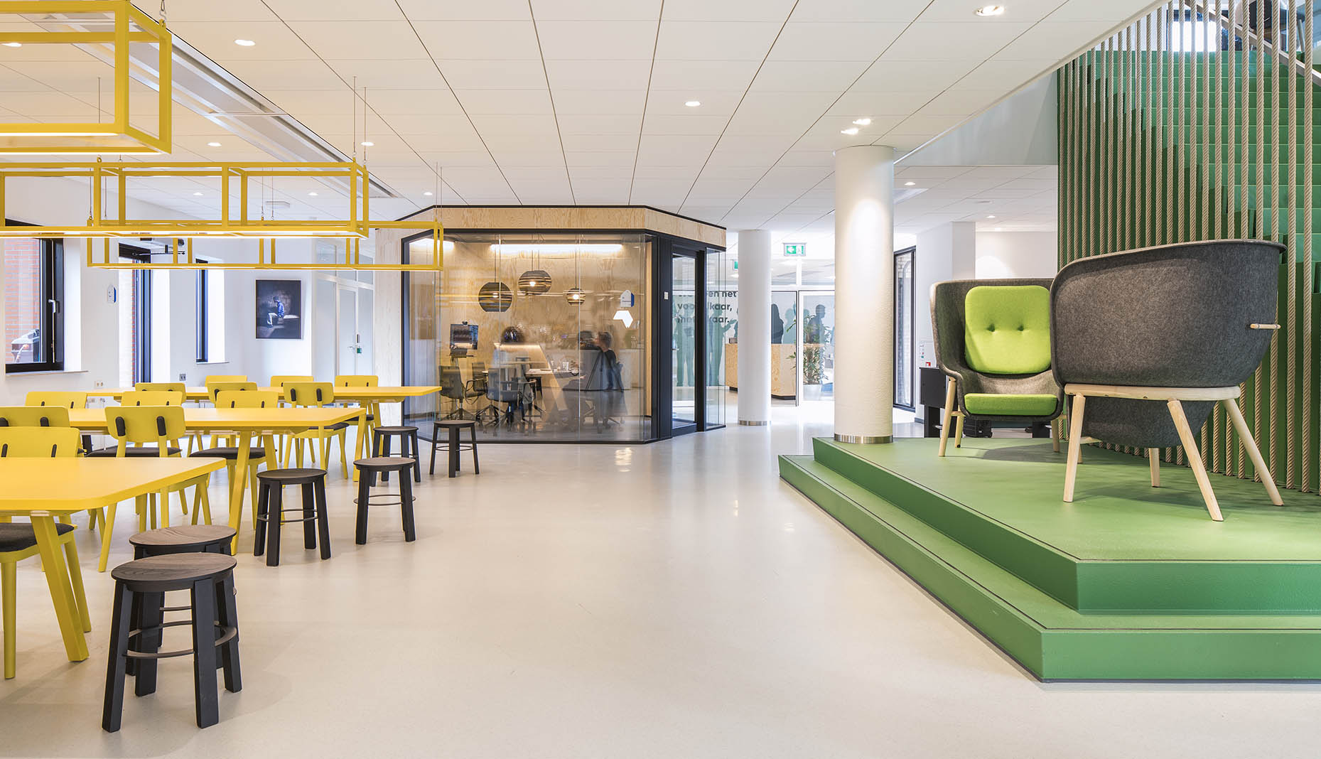 De Vorm for Office | Flexible Workplace Design- the Open Office, Cubicle and Beyond