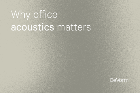 Why Office Acoustics Matters