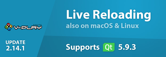 Use Live Code Reloading on macOS and Linux - Felgo 2.14.1