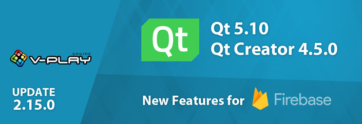 Release 2.15.0: Qt 5.10, Qt Creator 4.5 and Firebase Additions