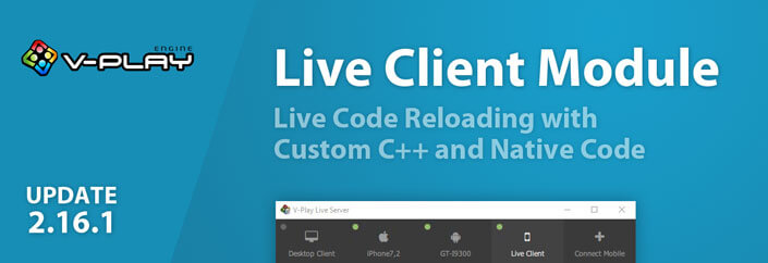 Release 2.16.1: Live Code Reloading with Custom C++ and Native Code for Qt - Felgo