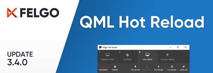 Release 3.4.0: QML Hot Reload with Felgo Live - Felgo