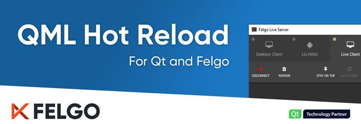 QML Hot Reload with Felgo Live