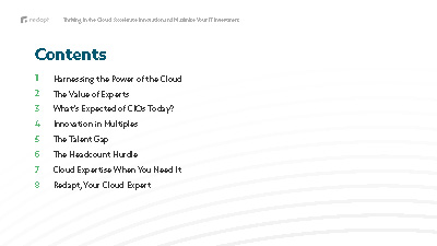 ThrivingInTheCloud_AccelerateInnovationAndMaximizeYourITInvestment_redapt_ebook_v012