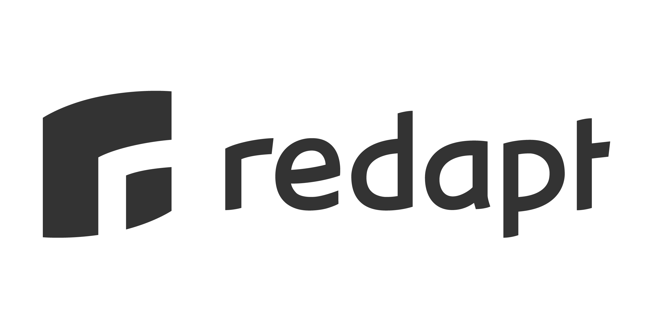 Redapt Logo Gray Transparent Background
