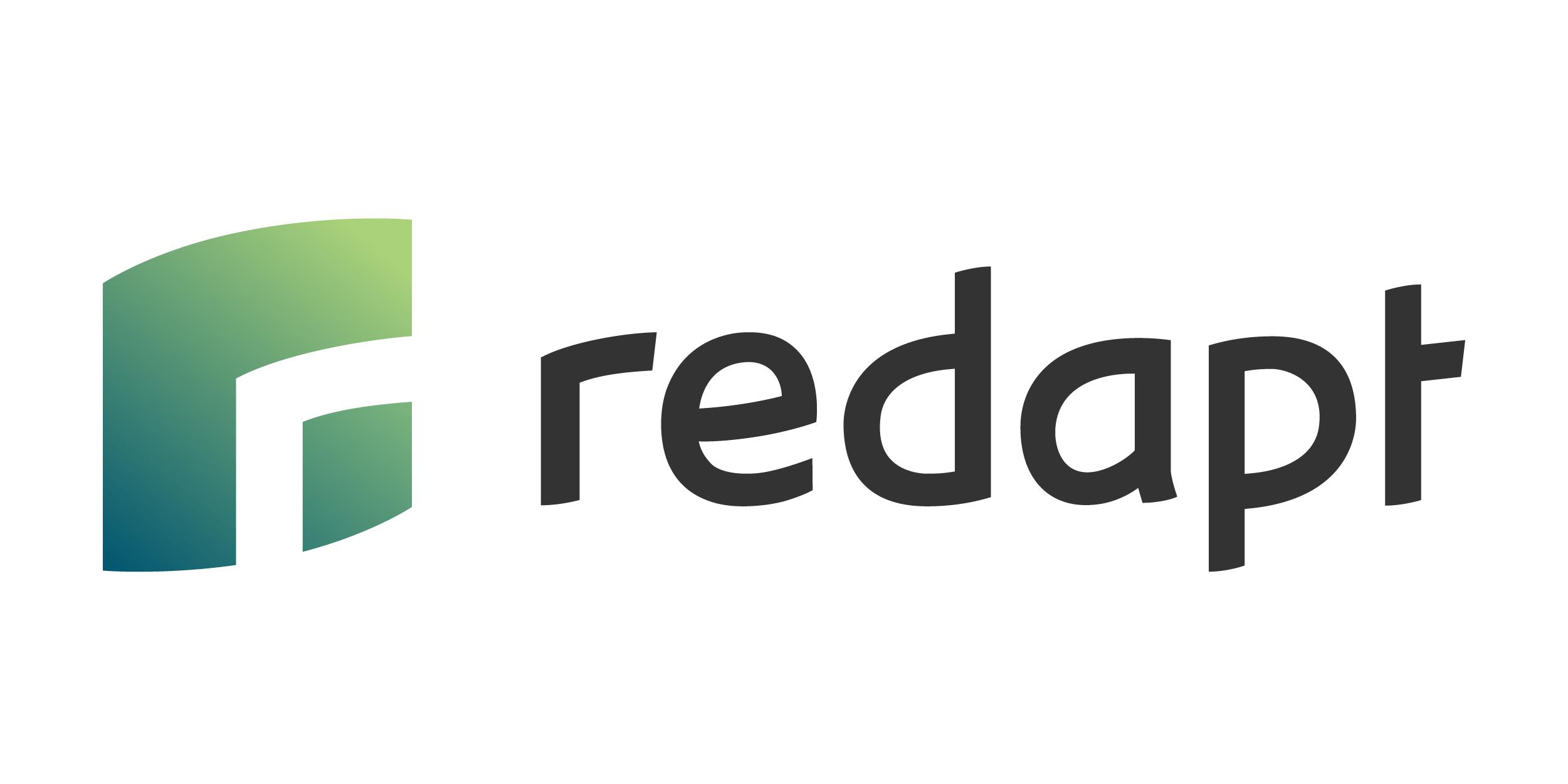 Redapt Logo White Background