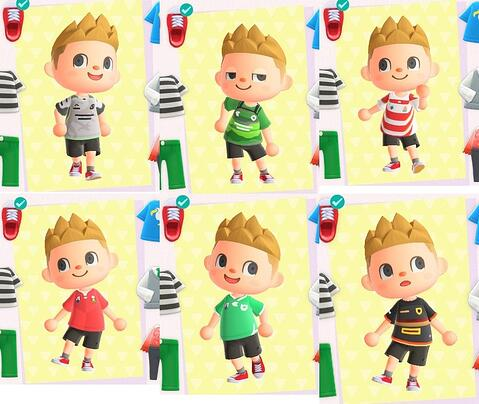 Animal Crossing Rugby Jerseys