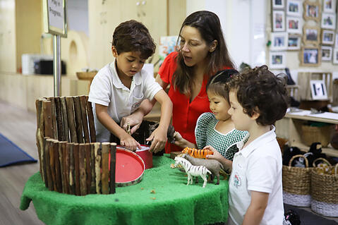 Foundation Stage Alice Smith School: Nurturing a Love of Learning