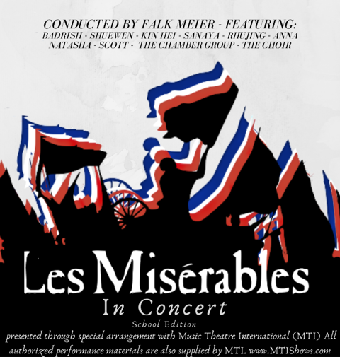Our Les Misérables performance may be postponed but we'd still like to celebrate the student team behind it!
