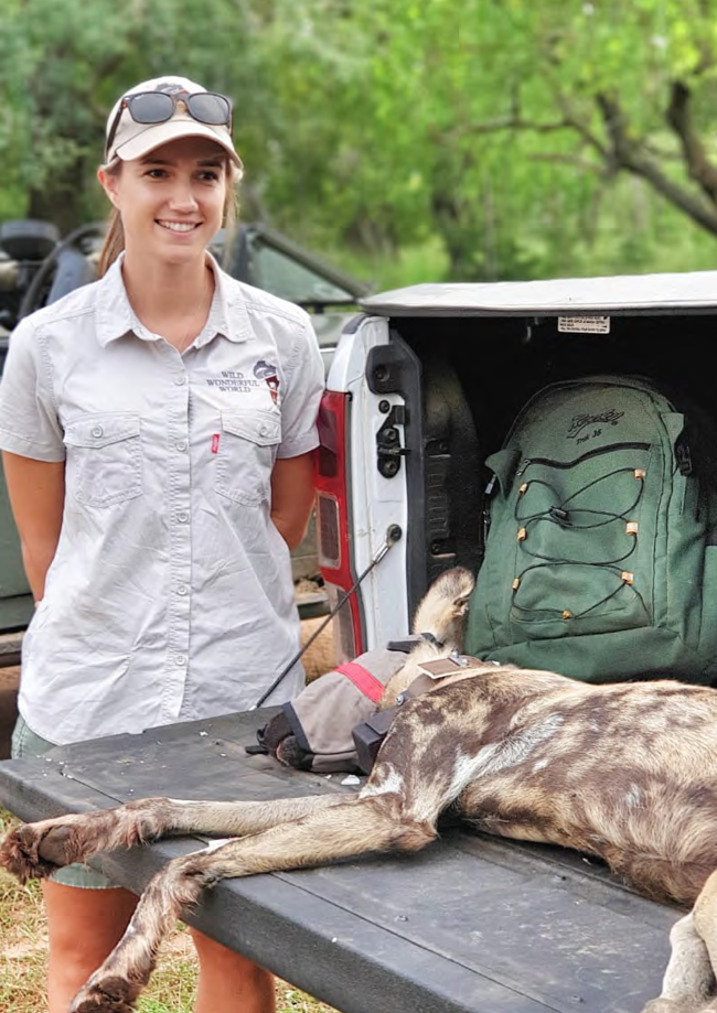 Alumni stories: Meet The Wildlife Ranger