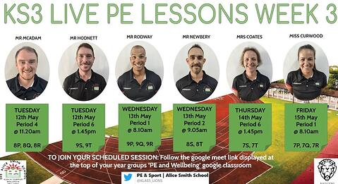PE & Sport: How we're adapting our teaching during the MCO